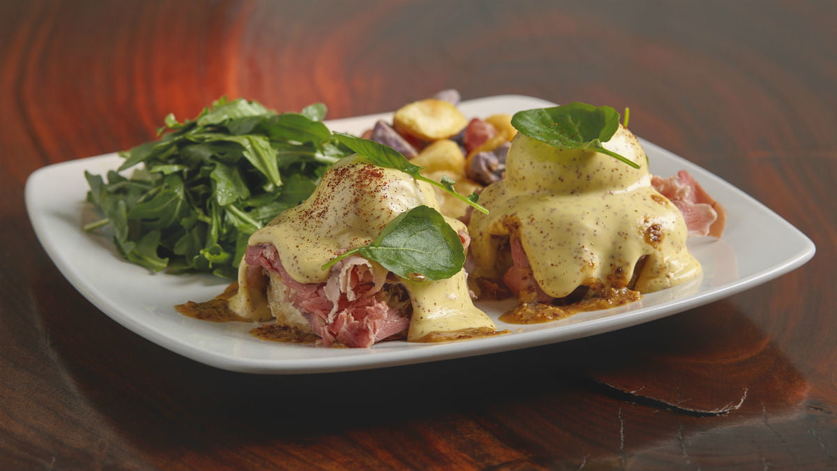 Barbecue For Breakfast? Eggs Benedict Will Never Be the Same Thanks to This Recipe.