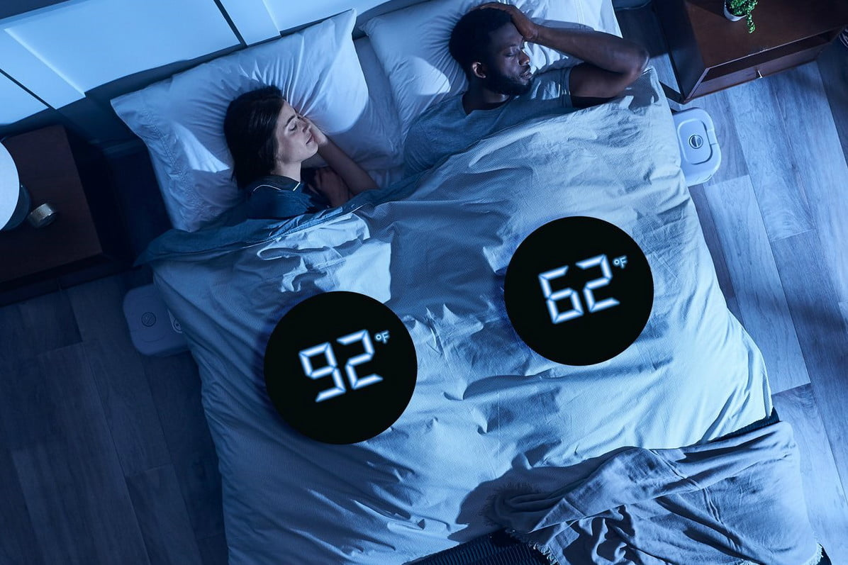 Sleep Cool with Chilipad, a Personal Bed Chiller and Heater