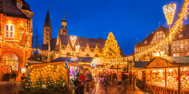 dream destinations for christmas around the world market goslar germany getty images