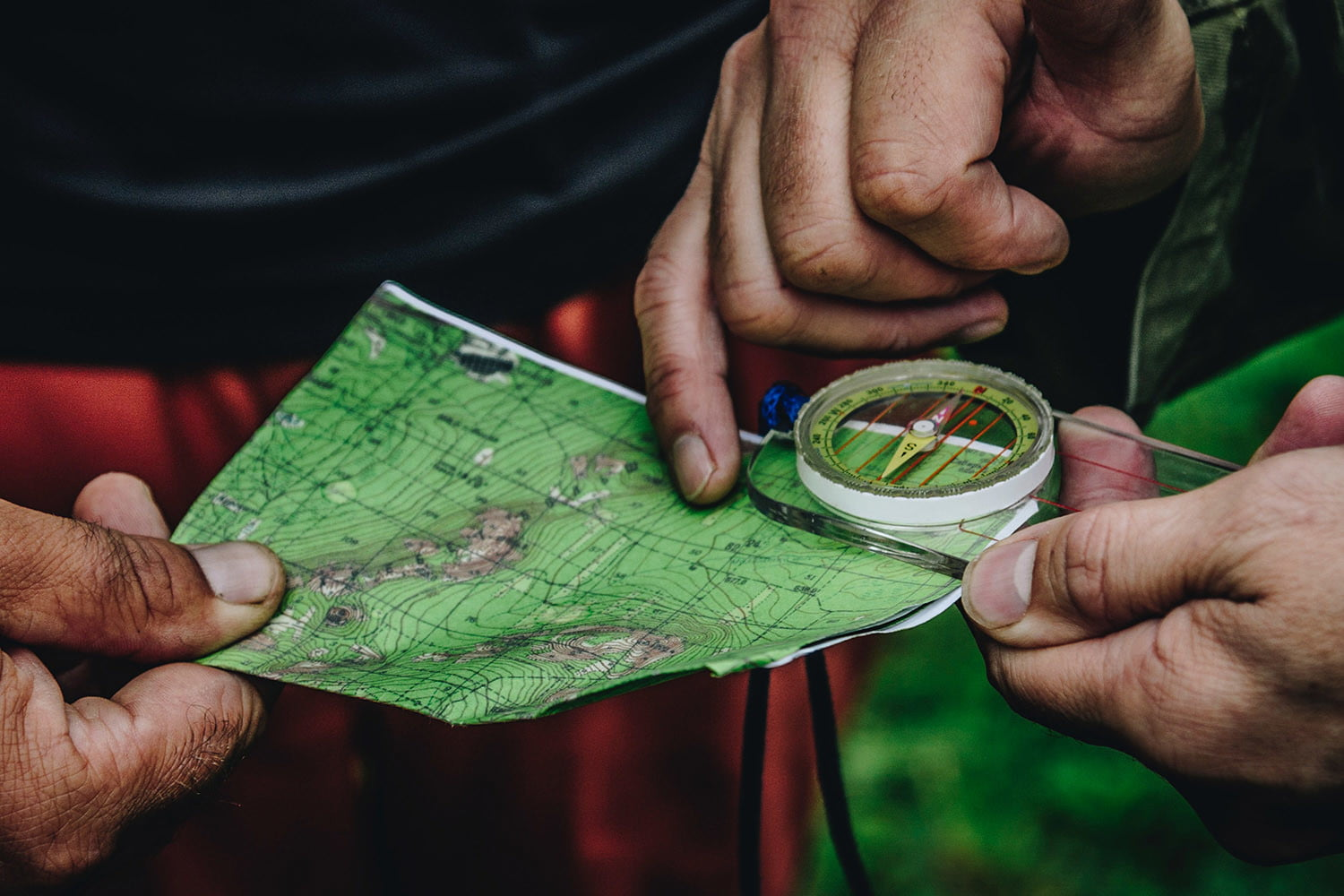 A Simple Guide on How to Navigate with a Map and Compass