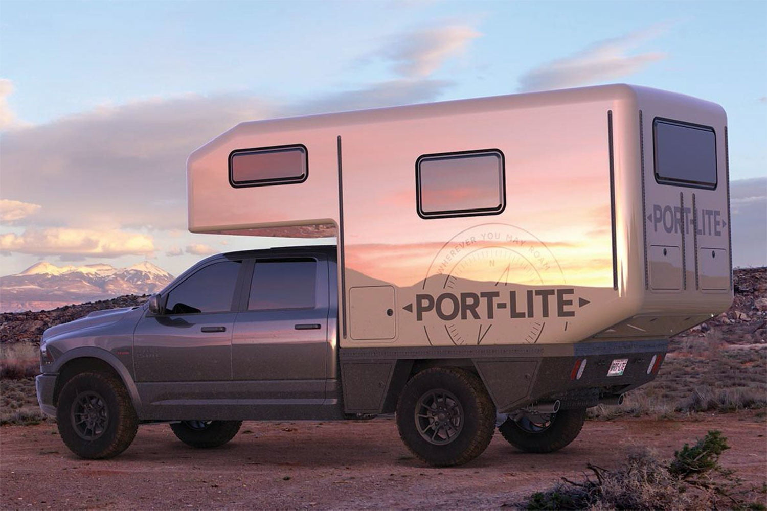 Turn Any Pickup Into a Full-Featured Overland Camper With Port-Lite Expedition